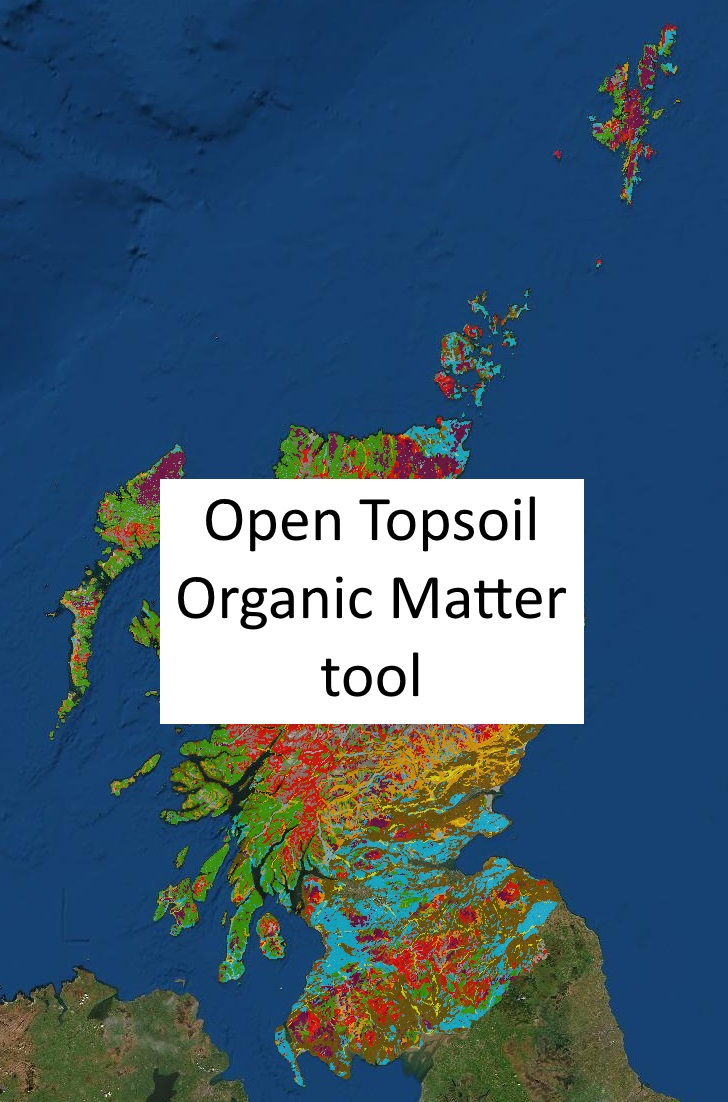 Click to enter the Soil Organic Matter tool